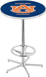 Auburn University Chrome Pub Table