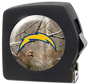NFL San Diego Chargers 25' RealTree Tape Measure