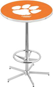 Holland Clemson Chrome Pub Table