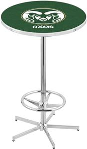 Colorado State University Chrome Pub Table