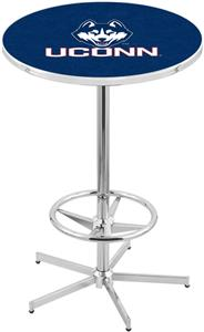 University of Connecticut Chrome Pub Table