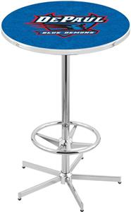 DePaul University Chrome Pub Table