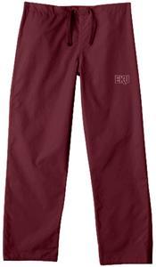 Eastern Kentucky Univ Maroon Classic Scrub Pants