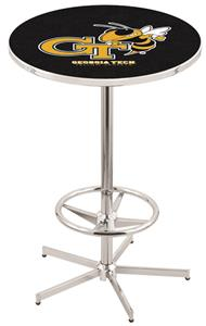 Georgia Tech Chrome Pub Table