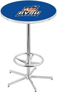 Grand Valley State University Chrome Pub Table