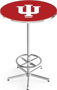 Indiana University Chrome Pub Table