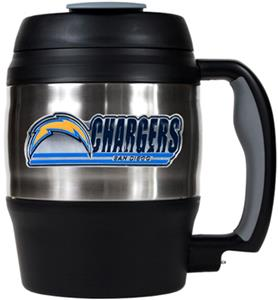 NFL San Diego Chargers 52oz Macho Travel Mug