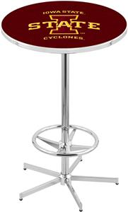 Iowa State University Chrome Pub Table