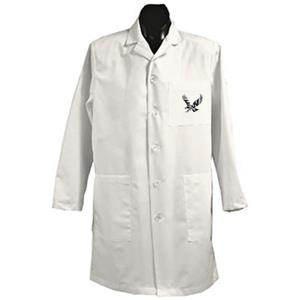 Eastern Washington Univ White Long Labcoats