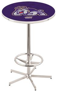 James Madison University Chrome Pub Table