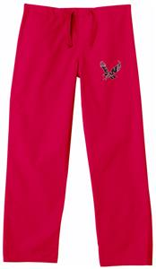 Eastern Washington Univ Red Classic Scrub Pants