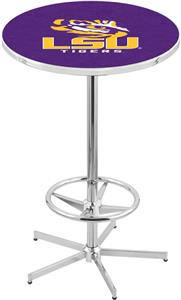 Louisiana State University Chrome Pub Table