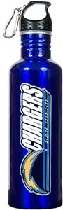NFL San Diego Chargers Blue Water Bottle