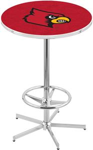 University of Louisville Chrome Pub Table