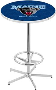 University of Maine Chrome Pub Table
