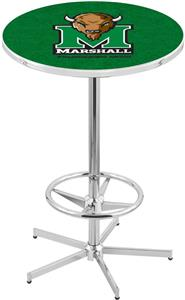 Marshall University Chrome Pub Table