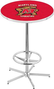 University of Maryland Chrome Pub Table
