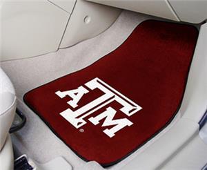 Fan Mats Texas A&M Univ Carpet Car Mats (set)
