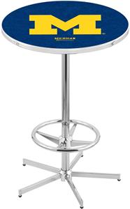 University of Michigan Chrome Pub Table