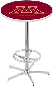 University of Minnesota Chrome Pub Table