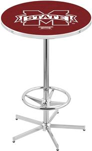 Mississippi State University Chrome Pub Table