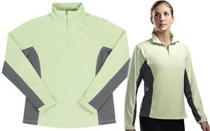 TRI MOUNTAIN Dash Women's 1/4-Zip Pullover Shirt