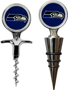 NFL Seattle Seahawks Cork Screw & Bottle Topper