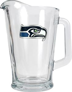 NFL Seattle Seahawks 1/2 Gallon Glass Pitcher