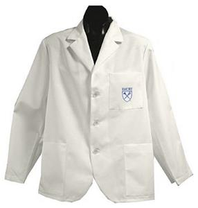 Emory University White Short Labcoats