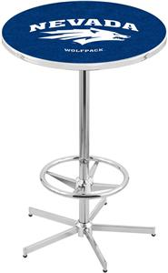 University of Nevada Chrome Pub Table