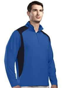 TRI MOUNTAIN Diversion Quarter Zip Pullover Shirt