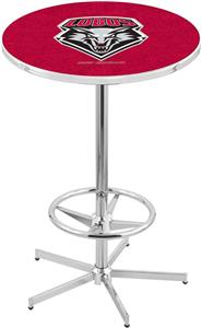 University of New Mexico Chrome Pub Table