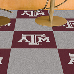 Fan Mats Texas A&amp;M University Carpet Tiles