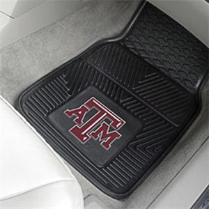 Fan Mats Texas A&M University Vinyl Car Mats (set)