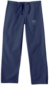 Emory University Navy Classic Scrub Pants