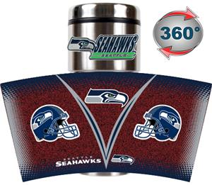 NFL Seattle Seahawks Tumbler (Logo & Team Name)