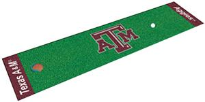 Fan Mats Texas A&M University Putting Green Mat