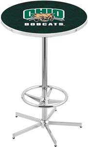 Ohio University Chrome Pub Table