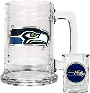 NFL Seattle Seahawks Boilermaker Gift Set