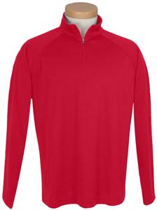 TRI MOUNTAIN Milestone Quarter Zip Pullover Shirt