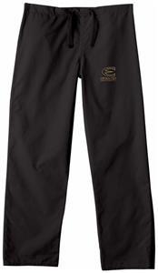Emporia State Univ Black Classic Scrub Pants