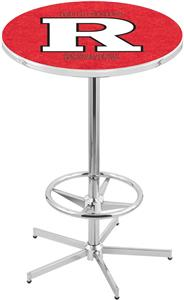 Holland Rutgers Chrome Pub Table