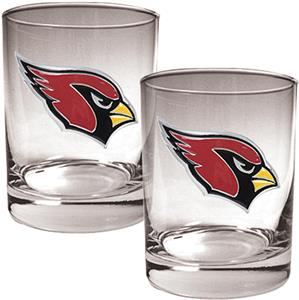 NFL Seattle Seahawks 2 piece Rocks Glass Set