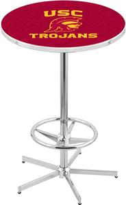 University of Southern California Chrome Pub Table