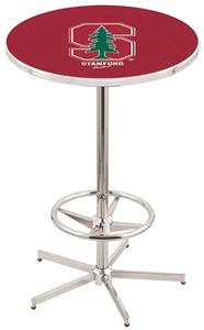 Stanford University Chrome Pub Table