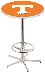 University of Tennessee Chrome Pub Table