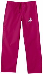 Flagler College Crimson Classic Scrub Pants