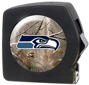 NFL Seattle Seahawks 25' Realtree Tape Measure
