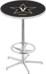 Vanderbilt University Chrome Pub Table