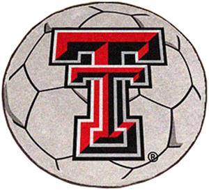 Fan Mats Texas Tech University Soccer Ball